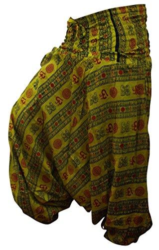 Vrac Yoga Avec En Pantalon Harem Confortable Et Imprimé Lima Fashion Shopoholic Hippy Om De Confortable qtzwA