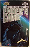 Ender's Game [ First Tor mass market printing, Jan. 1986 ] (aliens have attacked earth twice and almost destroyed the human species...)