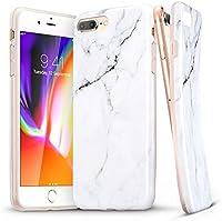 "iPhone 8 Plus Case, iPhone 7 Plus Case, ESR Soft TPU [Marble Pattern] Shell Skin [Anti-Scratch] Ultra Thin [Slim Fit] Cover for Apple iPhone 8 Plus/7 Plus 5.5"""