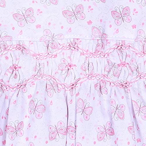 Magnolia Baby Baby Girl Dotties Classics Smocked Hat P/ïnk
