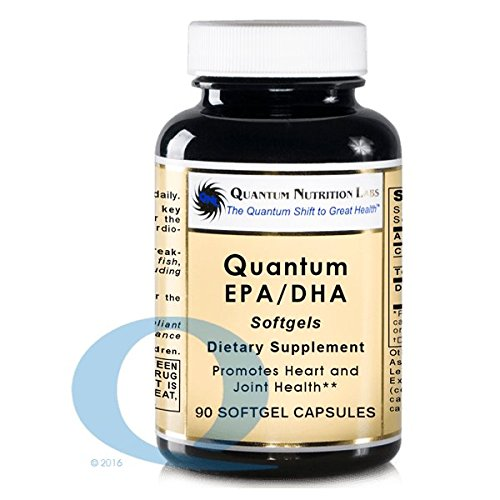 Quantum EPA/DHA, 360 Softgels (4 bottles) Clay-Purified Fish Oil without molecular distillation - Promotes Heart and Joint Health by Quantum Nutrition Labs