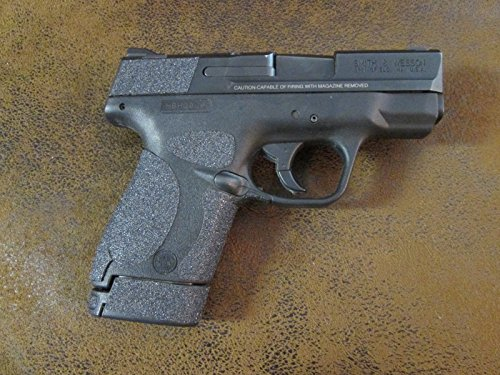 Sand Paper Pistol Grip Peel and Stick Grip Enhancements for S&W M&P Shield 9mm and .40 Caliber