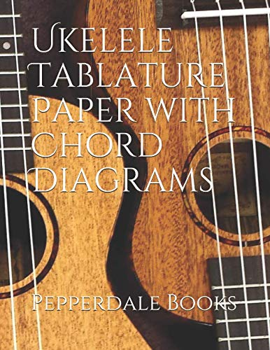 Ukelele Tablature Paper with Chord Diagrams