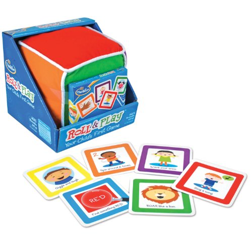 ThinkFun Roll and Play Game for Toddlers - Your Child's First Game! Award Winning and Fun Toddler Game for Parents and Kids -