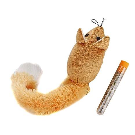 6SlonHy Masticables creativos para Gatos, Ratones de Cola Larga, Juguetes de Felpa: Amazon.es: Productos para mascotas