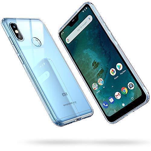 ESR Funda para Xiaomi Mi A2 Lite, Funda para Suave TPU Gel Ultra Fina Protección a Bordes y Cámara Compatible con Enjaca para Xiaomi Mi A2 ...