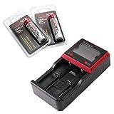 ThruNite Package Deal: ThruNite MCC-2S Universal Charger + ThruNite 3400mAh 18650 lithium Batteries (MCC-2S*1pcs + 18650-3400mah*2pcs)