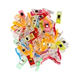 Andux Land 100PCS Clips Para Costura de Plástico Sewing Clips Wonder Clips FRJZ-01