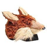 Brown Fox Plush Animal Hat