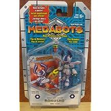MEDABOTS FIGURE - ROKUSHO (KWG-11237) with poster, card & die!