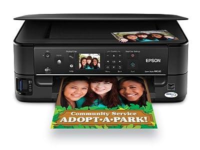 Epson Stylus NX530 Wireless All-in-One Color Inkjet Printer, Copier, Scanner (C11CB90201)