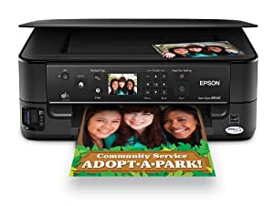 Epson Stylus NX530 Wireless All-in-One Color Inkjet Printer, Copier, Scanner (C11CB90201)