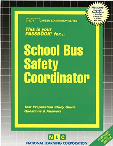 School Bus Safety Coordinator(Passbooks)