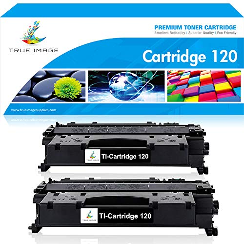 TRUE IMAGE Compatible Toner Cartridge Replacement for Cartridge 120 CRG 120 Canon 120 Toner Canon Imageclass D1550 ImageClass D1320 Toner D1350 Toner for D1150 D1100 D1120 D1170 D1180 Printer Ink -2PK
