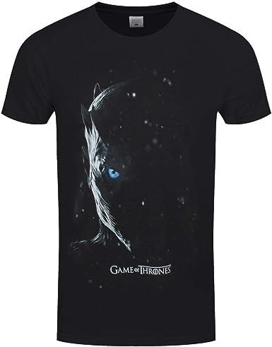 Juego de Tronos - Camiseta diseño Night King para chico hombre (M) (Negro): Amazon.es: Ropa y accesorios