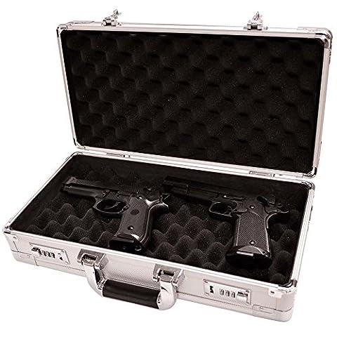 Magnum Silver Pistol Case - Magnum Handgun