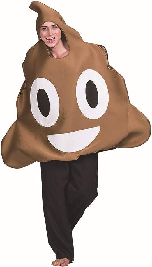 YYINHUI Niños Poop Emoji Disfraz Adulto Unisex Caca emoticonos ...