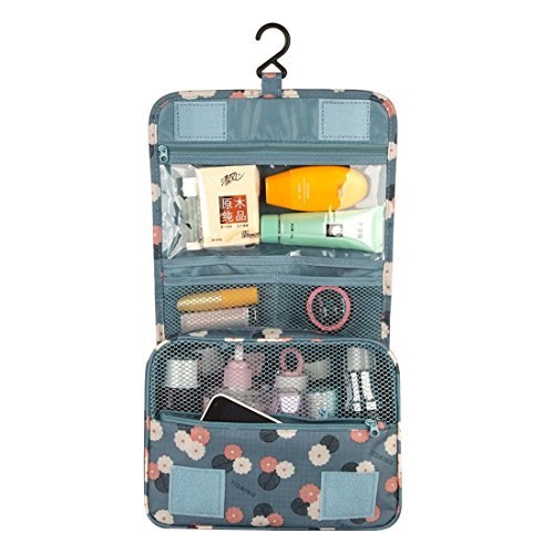 Pockettrip Hanging Toiletry Kit Clear Travel BAG Cosmetic Carry Case Toiletry