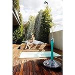GF-Garden-Doccia-Solare-Sunny-Style-Premium-Doccia-da-Giardino-Piscina-per-Esterno-ideale-anche-in-Vacanza-e-Campeggio-con-Miscelatore-per-acqua-calda-e-fredda-colore-Verde-Lime
