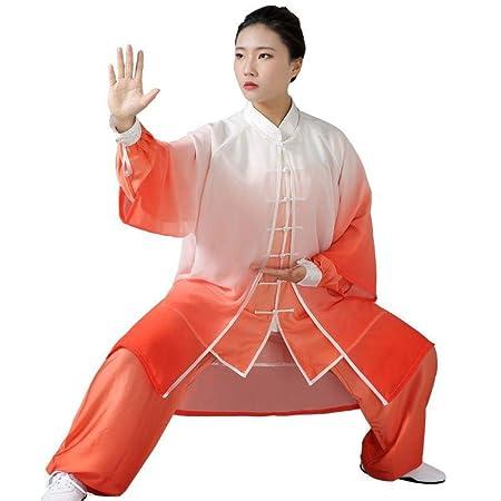 JHDUID Uniforme de Tai Chi Mujeres Hombres Ropa de Wudang ...