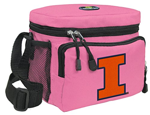 (Broad Bay University of Illinois Lunch Bag Womens & Girls Illini)