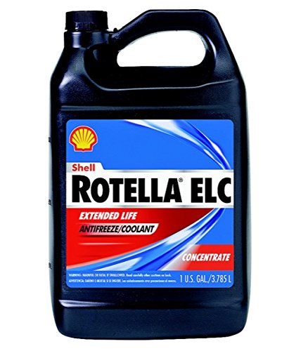 Rotella ELC Antifreeze/Coolant Concentrate 1 Gal. (6 Pack) by Shell Rotella T