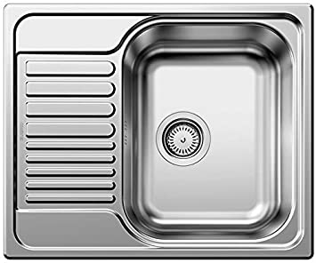 BLANCO TIPO 45 S Mini Spüle Edelstahl Naturfinish reversibel 516524