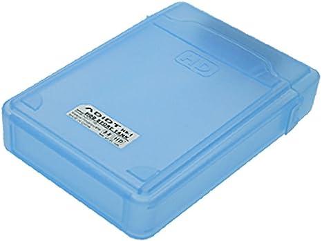 Deal MUX Blue Plastic 3,5 SATA de disco duro HDD caja caso IDE PATA: Amazon.es: Informática