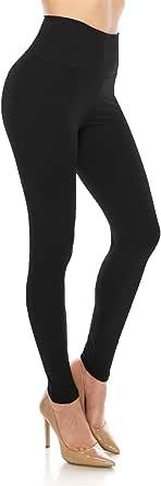 ALWAYS Leggings Women High Waist - Premium Buttery Soft Yoga Workout Stretch Solid Pants