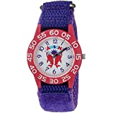 eWatchFactory Girl's 'Shark Week' Quartz Plastic and Nylon Sport Watch, Color:Purple (Model: WDC000062)