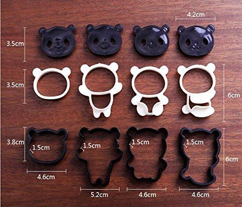 Panda Bear Shape Baking Cooking Accessories Panda Shape Cookie Cutter