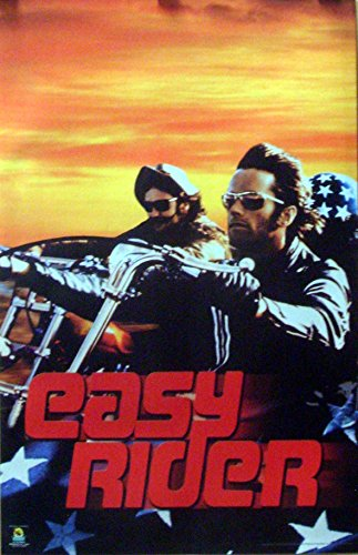 Easy Rider 22x34 Choppers Sunset Poster 2003