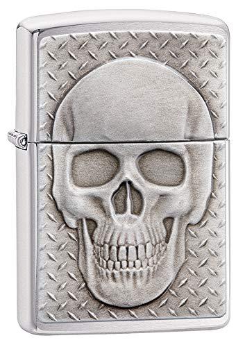 (Zippo Skull with Brain Surprise Pocket Lighter)
