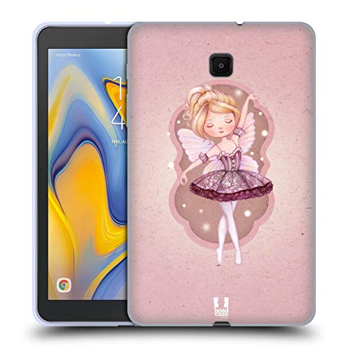 Head Case Designs Sugar Plum Fairy The Nutcracker Soft Gel Case Compatible for Galaxy Tab A 8.0 (2018) ()