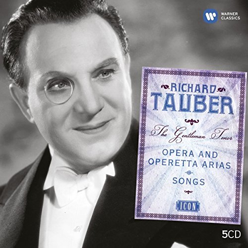 The Gentleman Tenor Opera and Operetta Arias - Richard Tauber, Set 5CD