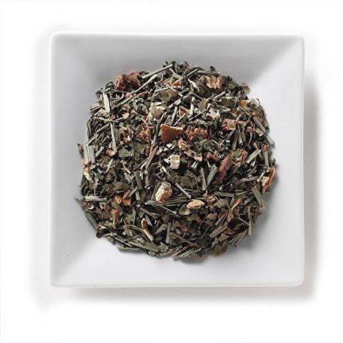 Mahamosa Herbal Explosion Tea 2 oz, Loose Leaf Herbal Herb Tea Blend (with melissa, lemon grass, apple pieces, orange peel, carrot flakes, lemon myrtle, sweet blackberry (Apple Sweet Peel)