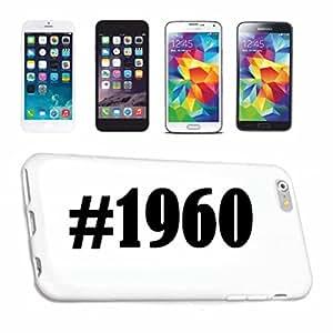 cubierta del teléfono inteligente iPhone 6 Hashtag ... #1960 ... en Red Social Diseño caso duro de la cubierta protectora del teléfono Cubre Smart Cover para Apple iPhone … en blanco ... delgado y hermoso, ese es nuestro hardcase. El caso se fija con un clic en su teléfono inteligente