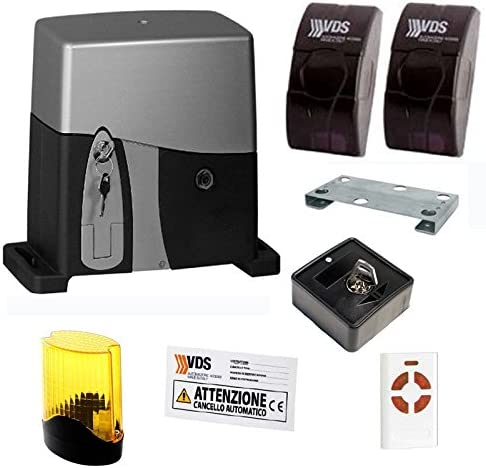 Kit AG F1000 para puertas correderas 230 V Peso Puerta Max 1000 kg VDS: Amazon.es: Bricolaje y herramientas