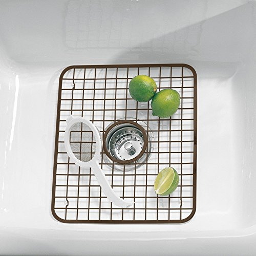 Dish Racks Mdesign Kitchen Sink Metal Drying Rack Mat