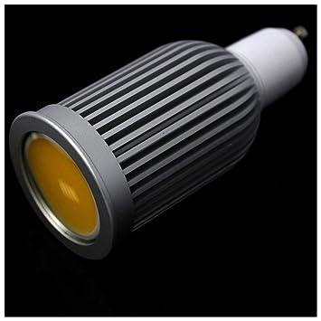 Cablematic - Bombilla LED COB GU10 230VAC 7W 90° 50mm luz día: Amazon.es: Electrónica