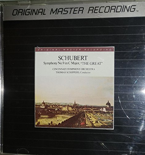 """Price comparison product image Schubert / Symphony No. 9 In C Major, """"The Great"""", D.944 / Original Master Recordings / Vox Turnabout 1978 / Manufactured by Sanyo Japan / Cincinnati Symphony Orchestra / Thomas Schippers, Conductor / MFCD 817"""