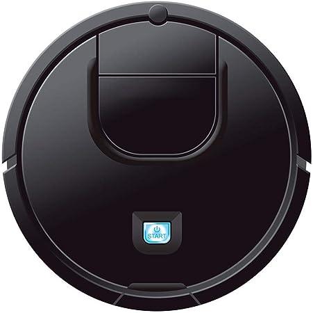HUAXU Robot Aspirador-Robot automático Detección automática de Pelo de Mascotas Robot Apto para Personas alérgicas Limpieza del hogar Piso de Madera Dura (Negro): Amazon.es: Hogar