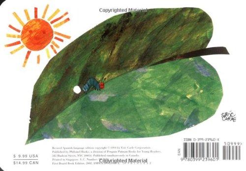 Amazon.com: La oruga muy hambrienta: Board Book (Spanish Edition ...