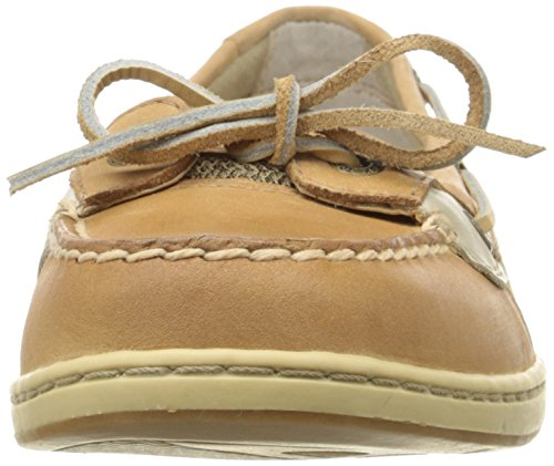 Sperry Top-Sider Frauen Angelfish 2-Augen Hafer Slip-On Loafer Leinen / Hafer