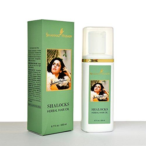 Shahnaz Husain Shalocks Herbal Ayurvedic Herbal Hair Oil Latest International Packaging (6.8 fl oz / 200 ml)
