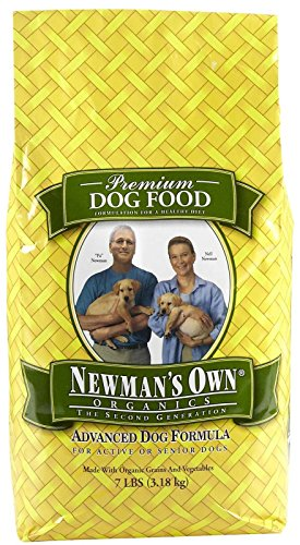 Newman'S Own 576007 4-Pack Organic Advanced Form Chicken Dry Food For Dogs, 7-Pound