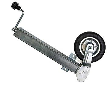 Rueda de apoyo para remolque The Drive (rueda de apoyo automática, tubo