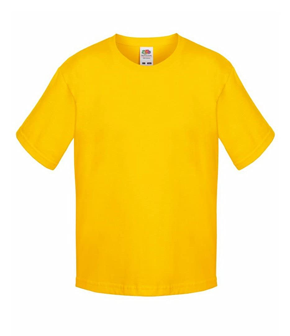 Fruit of the Loom Boys Sofspun T Shirt