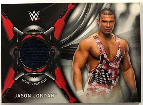 2018 Topps Road to WrestleMania Shirt Relics #SR-JJ Jason Jordan NM-MT MEM from Road to WrestleMania