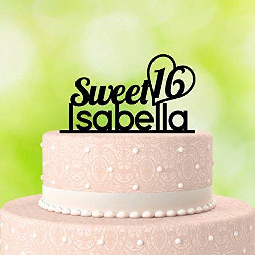 Baby Shower Personalized Name Acrylic Cake